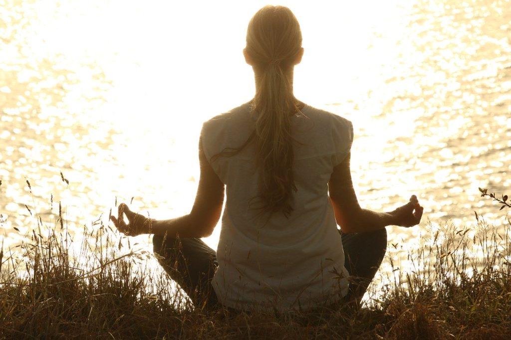 Sport und Meditation