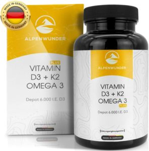 Die besten Vitamin D3 K2 Kapseln